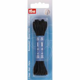 Lacets chaussure ronds 3mm x 90cm noir 1 paire - 17