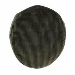 Casquette plate velours 100% coton t.57 kaki - 171