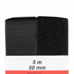 Ruban de la marque Velcro® 50mm noir - 175