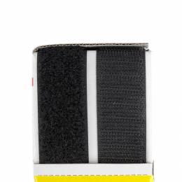 Ruban de la marque Velcro® adhésif 25mm noir - 175