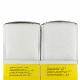 Ruban de la marque Velcro® adhésif 50mm 5m blanc - 175