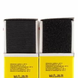 Ruban de la marque Velcro® adhésif 50mm 25m noir - 175