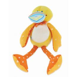 Doudou canard bavoir à broder - 187