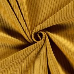 Tissu velours côtelé ocre - 196