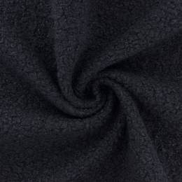 Tissu fausse fourrure bouclettes gris foncé - 196