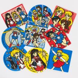 Lot de 10 étiquettes thermo Sailor Moon - 20