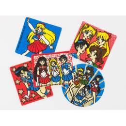 Lot de 5 étiquettes thermo Sailor Moon - 20