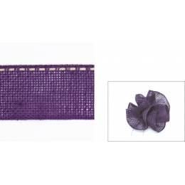 Ruban lin pour fleurs 40mm - 203