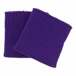 Bord-côte côtelé poignet violet - 207