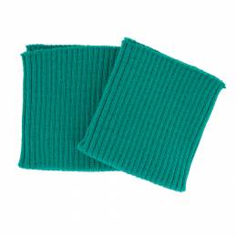 Bord-côte côtelé poignet vert émeraude - 207