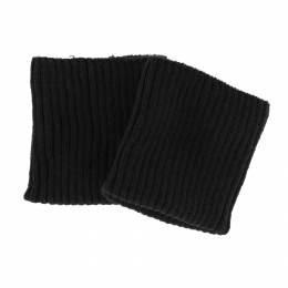 Bord-côte côtelé poignet noir - 207
