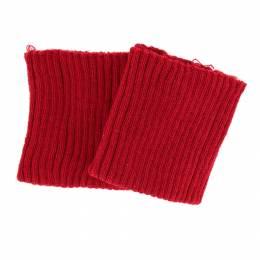 Bord-côte côtelé poignet rouge - 207