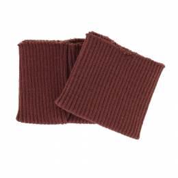 Bord-côte côtelé poignet cuir - 207