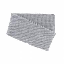 Bord-côte côtelé bas de blouson gris clair - 207