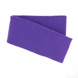 Bord-côte côtelé bas de blouson violet - 207