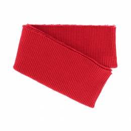 Bord-côte côtelé bas de blouson rouge - 207