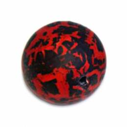 Perle 14mm rouge - 21