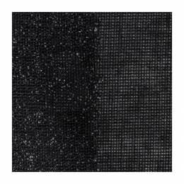 Toile thermocollante 90cm noir