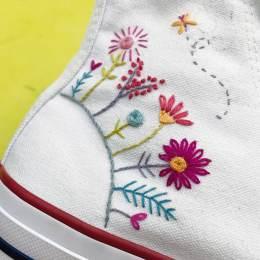 Kit broderie Easy Custo - planéte des fleurs - 215