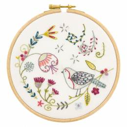 Georges le rouge gorge - kit broderie - 215