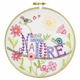 Vive la nature! - kit broderie - 215