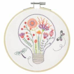 Lumière florale - kit à broder - 215