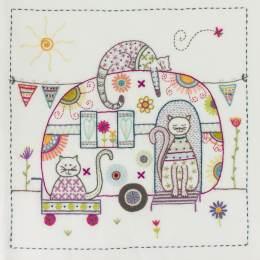 Une vie de bohème - pochette kit broderie - 215