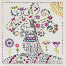 Mon arbre de vie - pochette kit broderie - 215