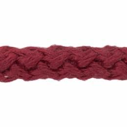 Cordon simple mat 8 mm rouge - 218