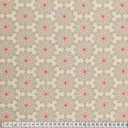 Tissu Mez Fabrics coton mandala dream grey - 22