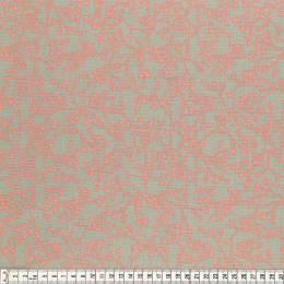Tissu Mez Fabrics coton mandala twine orange - 22