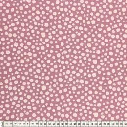 Tissu Mez Fabrics coton mandala spots berry - 22