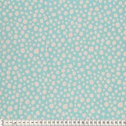 Tissu Mez Fabrics coton mandala spots blue - 22