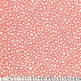 Tissu Mez Fabrics coton mandala spots orange - 22