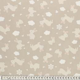 Tissu Mez Fabrics coton bunny & cloud bunny grey - 22