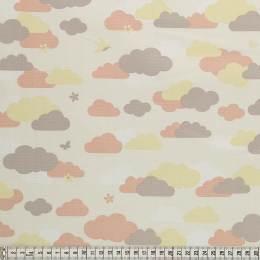 Tissu Mez Fabrics coton bunny & cloud clouds pink - 22