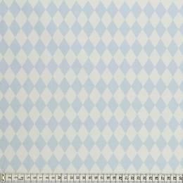 Tissu Mez Fabrics coton bunny & cloud diamond blue - 22