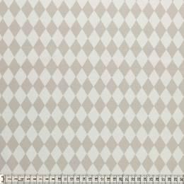 Tissu Mez Fabrics coton bunny & cloud diamond grey - 22