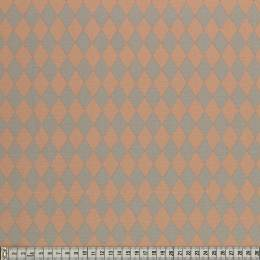 Tissu Mez Fabrics coton bunny & cloud diamomd pink - 22