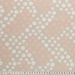 Tissu Mez Fabrics coton bunny & cloud drops grey - 22