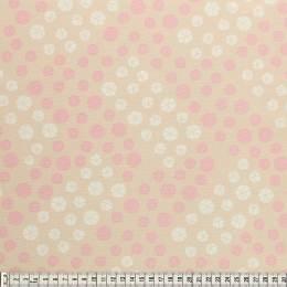 Tissu Mez Fabrics coton bunny & cloud drops white - 22
