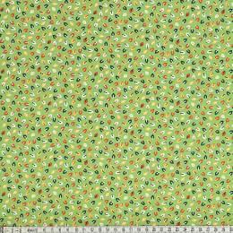 Tissu Mez Fabrics tutti frutti mini leaf green - 22