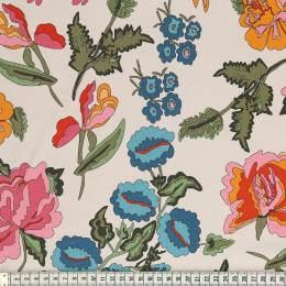 Tissu Mez Fabrics coton stauder white a&c - 22