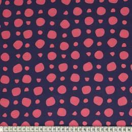 Tissu Mez Fabrics coton revebjelle blue a&c - 22