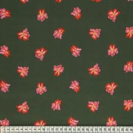 Tissu Mez Fabrics coton sverdlilje red a&c - 22