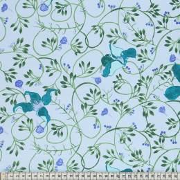 Tissu Mez Fabrics clematis blue - 22