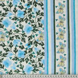 Tissu Mez Fabrics early spring flower sky - 22