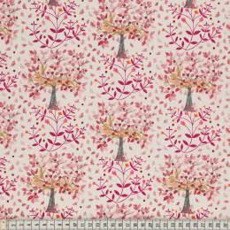 Tissu Mez Fabrics hare and pimpernel red - 22