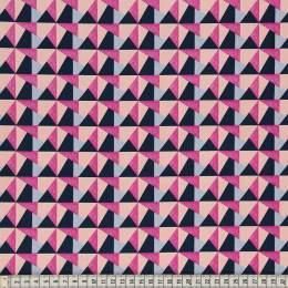 Tissu Mez Fabrics geo fuchsia - 22