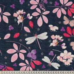 Tissu Mez Fabrics spring blossom night - 22
